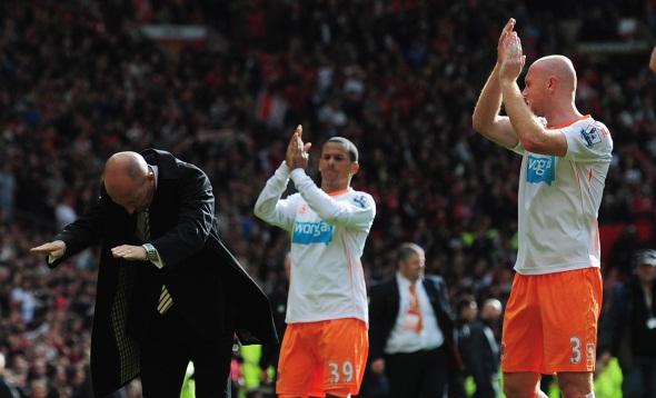 Ian Holloway salutes
